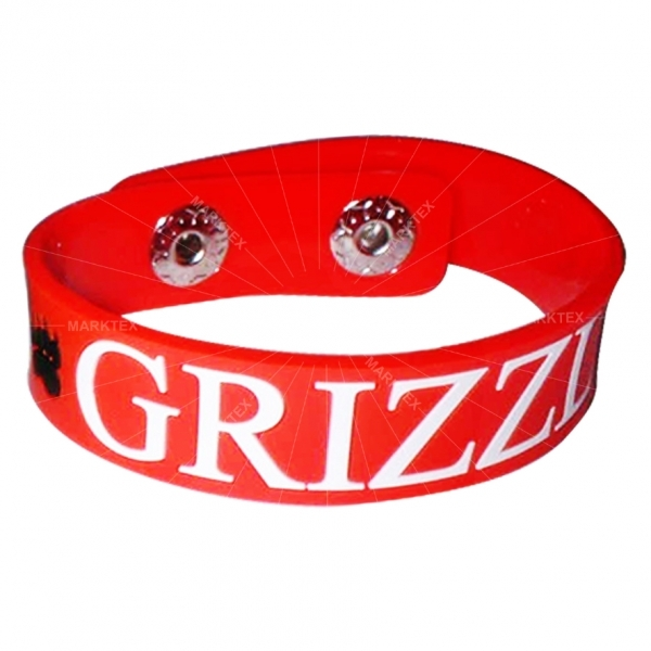 2D design soft PVC wristband bracelet supplier