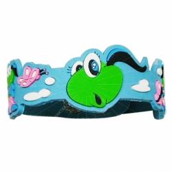 3D design soft PVC bracelet