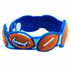3D design soft PVC wristband