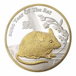 鼠年生肖紀念幣