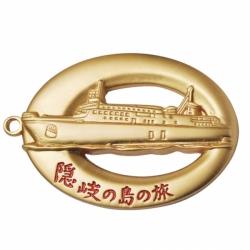 3D立體鍍金鑰匙扣