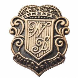 古金古銅胸章