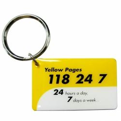 金屬印刷鑰匙圈