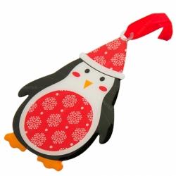 聖誕主題緞帶書籤