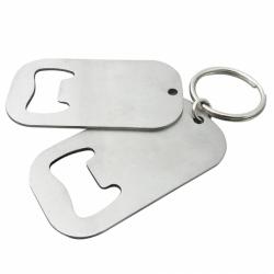 不銹鋼開瓶器鑰匙圈