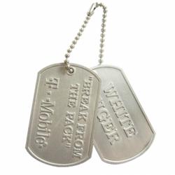美國大兵項鍊紀念品